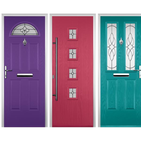 Coloured Composite Doors